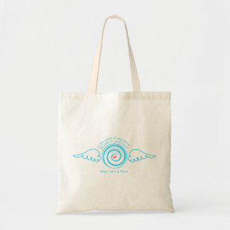 Calm Heart in a Storm Tote Bag