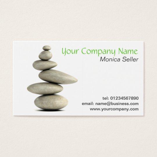 Calm Holistic Spa Business Card