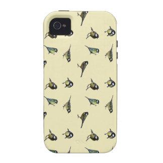 Calm Little Birdie Pattern Case-Mate iPhone 4 Cover