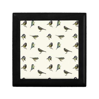 Calm Little Birdie Pattern Gift Box