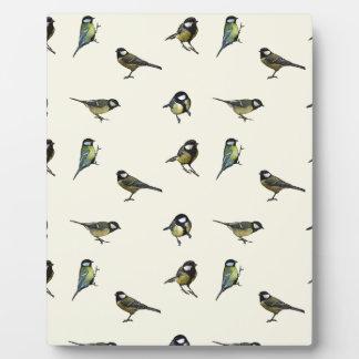 Calm Little Birdie Pattern Plaque