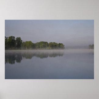 Calm Morning print