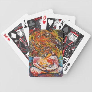 Calm my Crazy Mind Bicycle Playing Cards