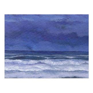 Calm Nights at Sea - CricketDiane Ocean Art Postcard