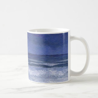 Calm Nights at Sea Ocean Art Coffee Mug