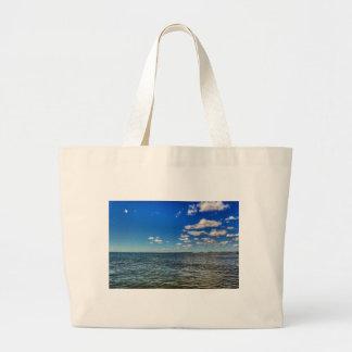 Calm Ocean Large Tote Bag
