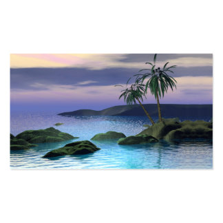 Calm Palms - Business Size Double-Sided Standard Business Cards (Pack Of 100)