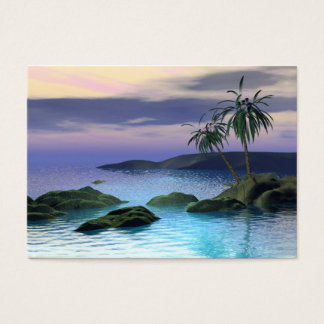 Calm Palms - Chubby Business Card