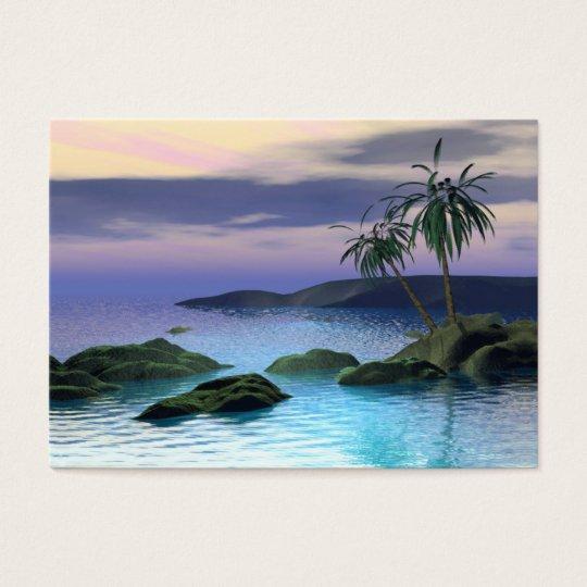 Calm Palms - Chubby Business Card