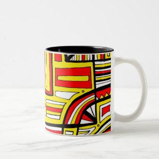 Calm Polite Determined Genuine Two-Tone Coffee Mug
