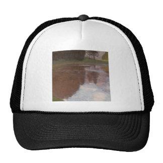 Calm pond trucker hat