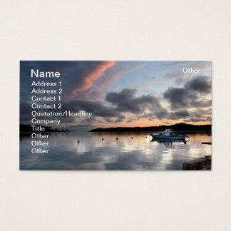 Calm port business card