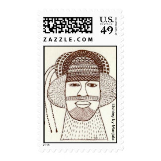 Calm Postage Stamp