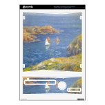 Calm Seas by Henri Moret Decal For Xbox 360 S