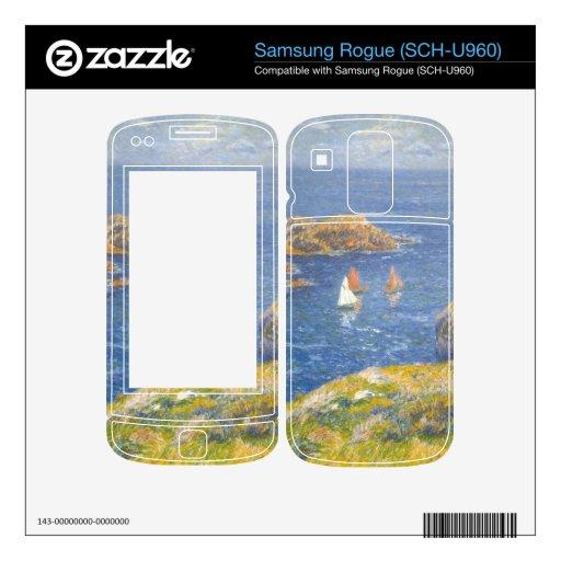 Calm Seas by Henri Moret Skin For Samsung Rogue