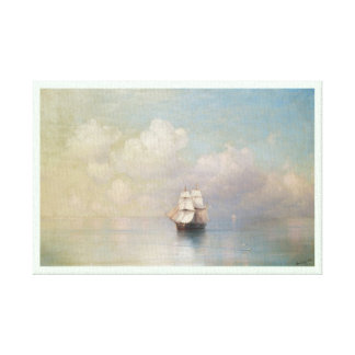 Calm Seas Ivan Aivazovsky seascape waterscape sea Gallery Wrap Canvas