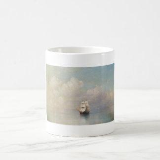 Calm Seas Ivan Aivazovsky seascape waterscape sea Coffee Mug