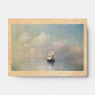 Calm Seas Ivan Aivazovsky seascape waterscape sea Envelope