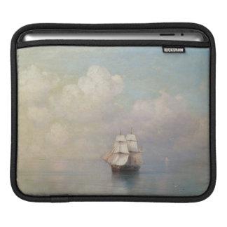 Calm Seas Ivan Aivazovsky seascape waterscape sea Sleeve For iPads