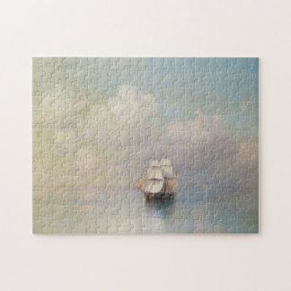 Calm Seas Ivan Aivazovsky seascape waterscape sea Puzzles