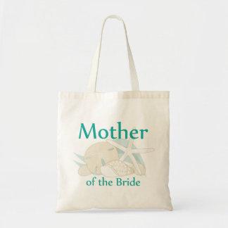 Calm Seashells Mother of the Bride Tote Bag