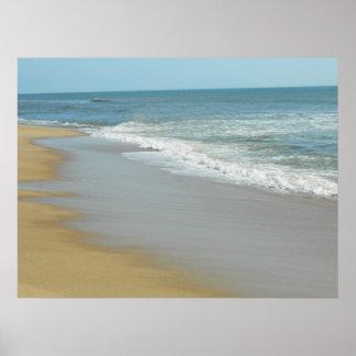 Calm Seashore Poster