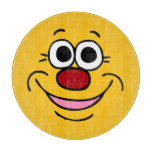 Calm Smiley Face Grumpey Cutting Boards