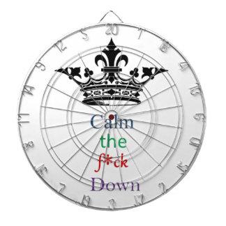 Calm the F*ck Down Dart Board