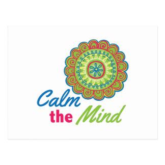 Calm The Mind Postcard