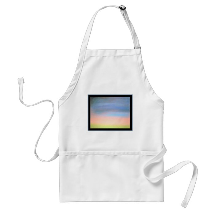 Calm, The original pastel, soothing and relaxing Adult Apron