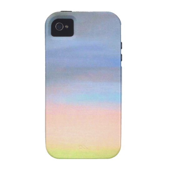 Calm, The original pastel, soothing and relaxing iPhone 4/4S Case