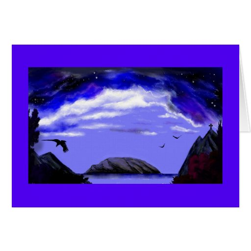 """""""Calm The Storm Within"""" Note card.*"""