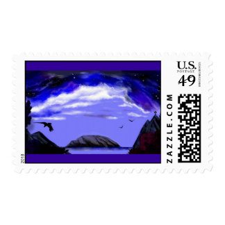 """Calm The Storm Within"" postage stamps.*"