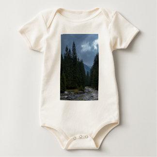 Calm to rivet baby bodysuit
