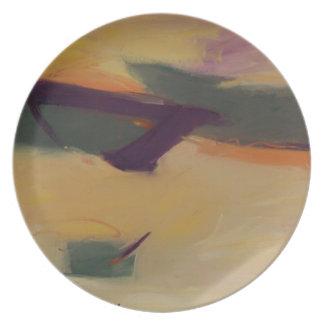 Calm Waters Melamine Plate