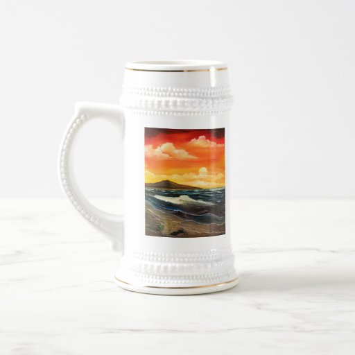 Calma antes de la tormenta tazas de café