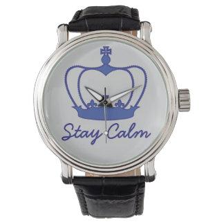 Calma de la estancia - el reloj de los hombres