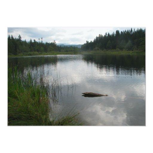 Calma de Padden del lago Anuncios