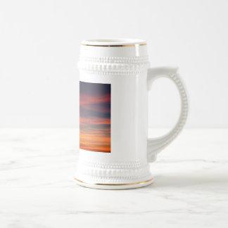 calma del cielo taza de café
