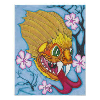 calma del dragón del foo pero furioso posters
