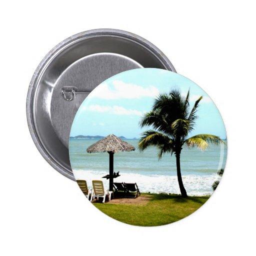 calma tropical de la paz del mar de la playa del p pin redondo 5 cm