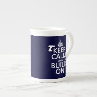 calma y estructura de build-on.pngKeep encendido ( Tazas De Porcelana
