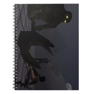 """""""Calmando"""" el cuaderno gigante de la foto (80 pági"""