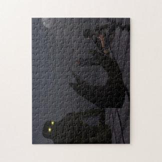 """""""Calmando"""" el rompecabezas gigante de la foto 10x1"""
