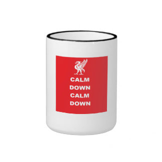 Calme abajo calman abajo la taza