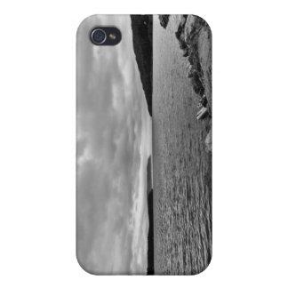 Calme antes de que la tormenta - caso del iPhone 4 iPhone 4/4S Carcasas