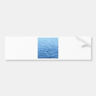 Calming Blue Water Bumper Sticker