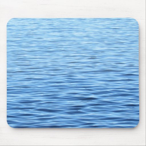 Calming Blue Water Mouse Pad