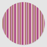 Calming Candy Stripe Stickers