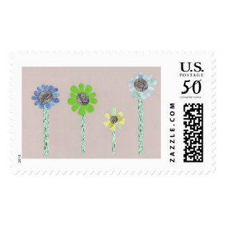 Calming Flowers Stamps